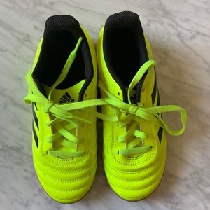 Worn once! Almost New Adidas Copa Sneaker Sz 1